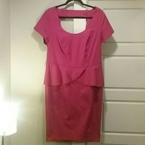 Red dress Torrid pinup retro style